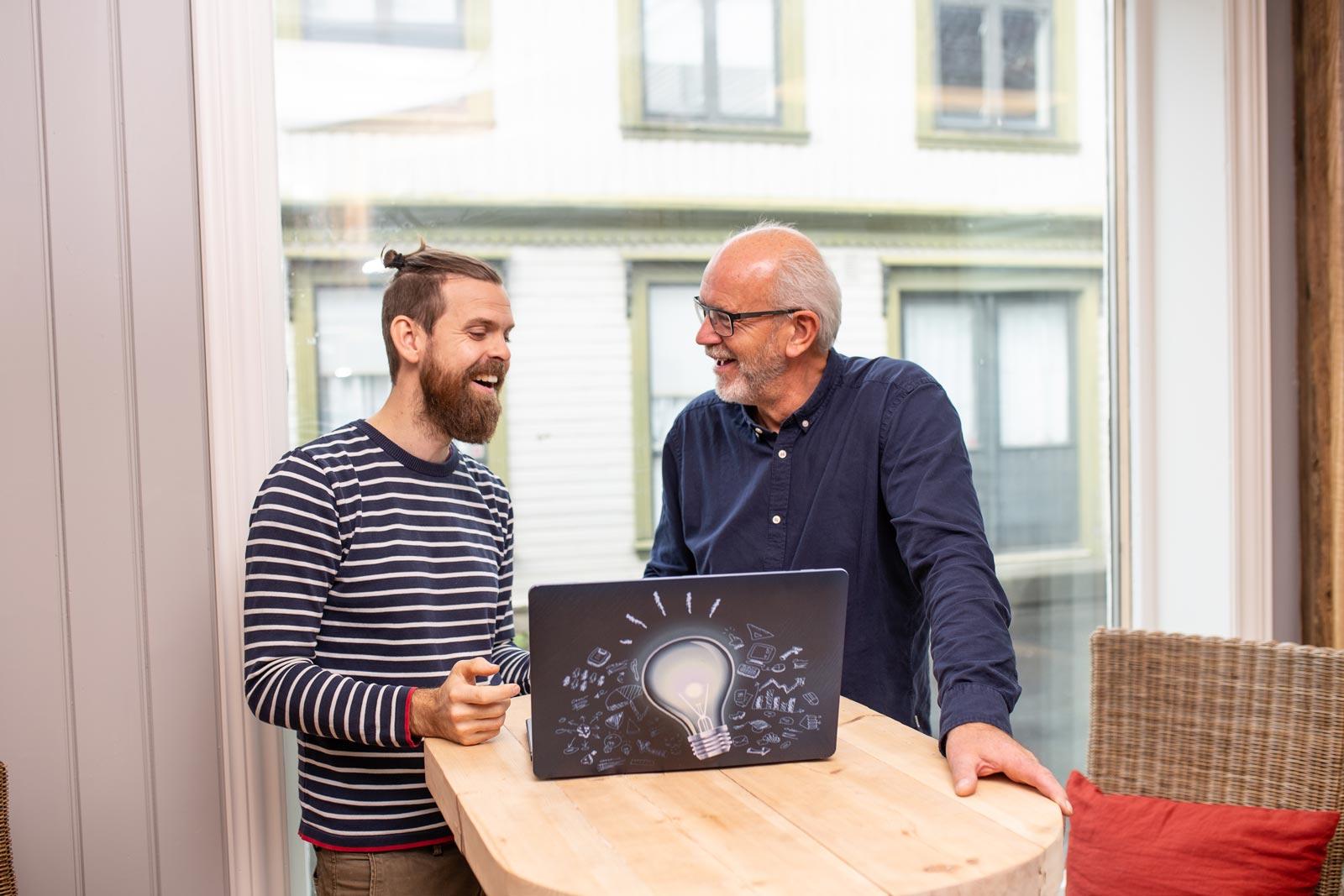 Farsund Coworks - Martin og Kjell Rune